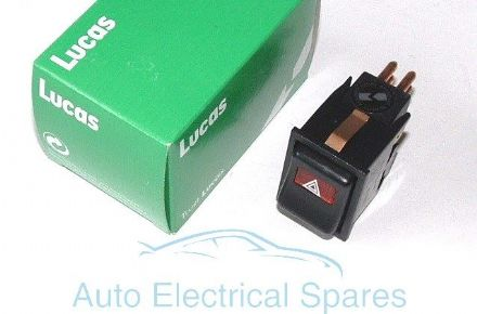 Lucas 30927 hazard warning light switch ILLUMINATED